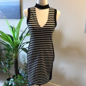 NEW Dress:  cute black and white dress small